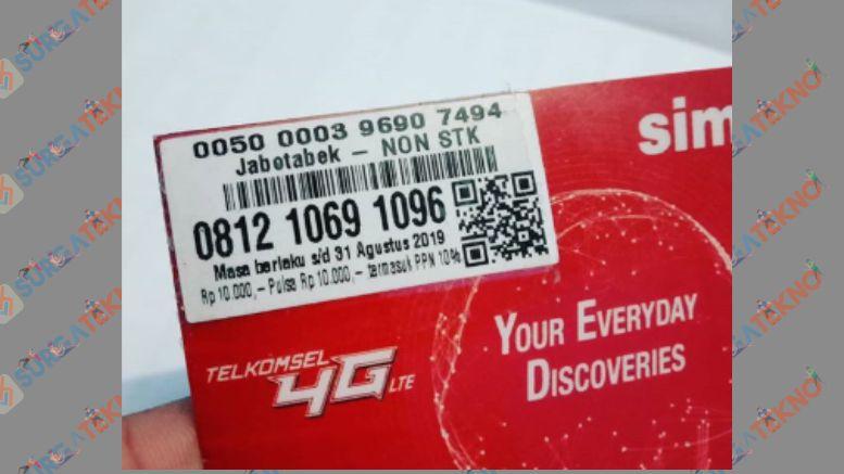 0812 Kartu Milik Provider simPATI