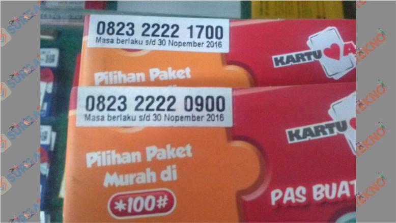 0823 Itu Nomor Awalan untuk Provider Kartu As