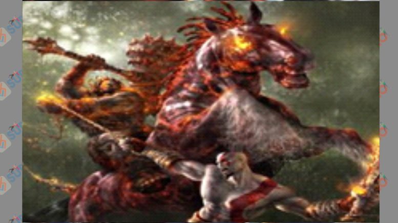 Barbarian King - Boss God of War 2