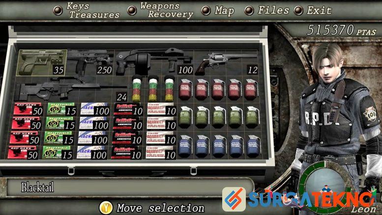 Cara Mendapatkan Senjata Resident Evil 4