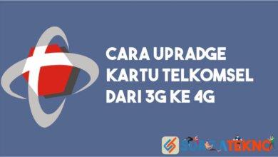 Photo of Cara Upgrade Kartu Telkomsel ke 4G, Dijamin Berhasil!