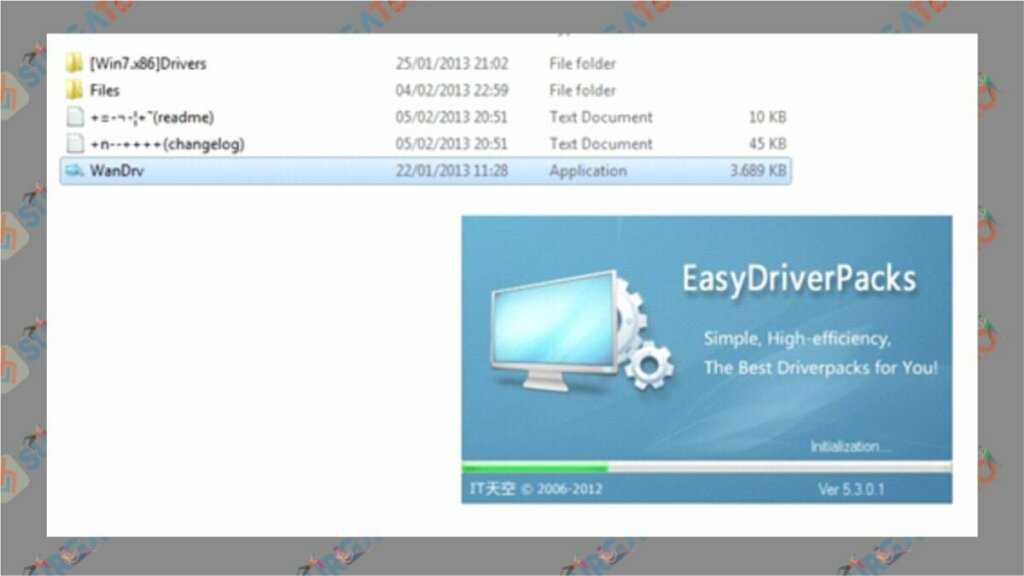 Download Wandrv (Easy Driver Pack) Terbaru