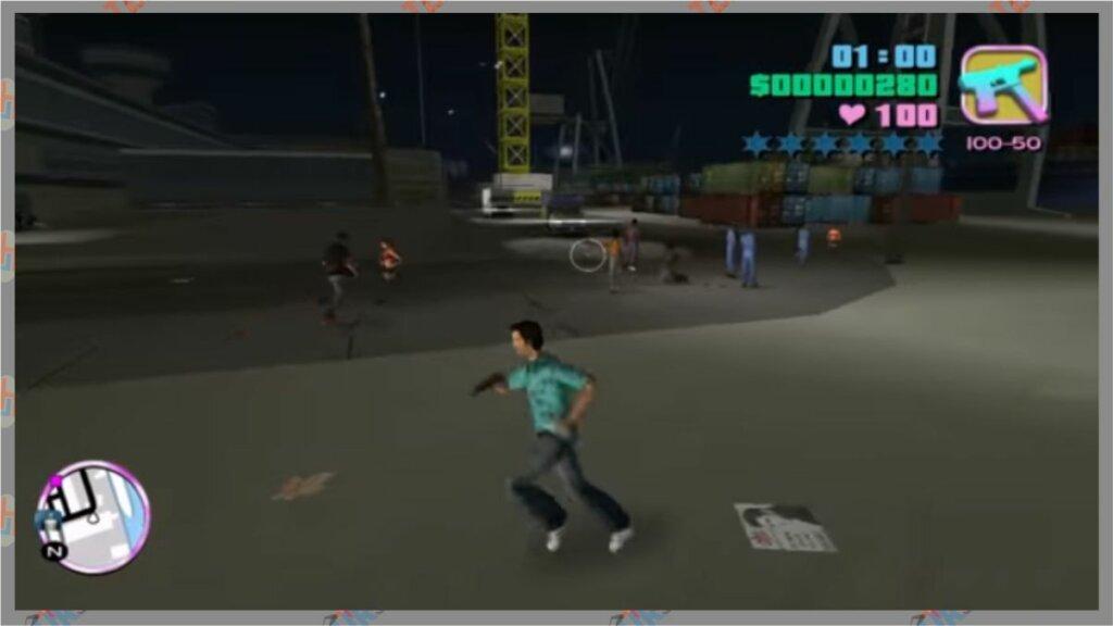 GTA Vice City dengan Spesifikasi Minimum RAM 2 GB