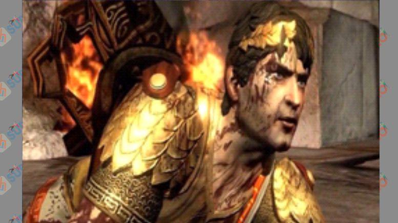 Helios - Boss God of War 3