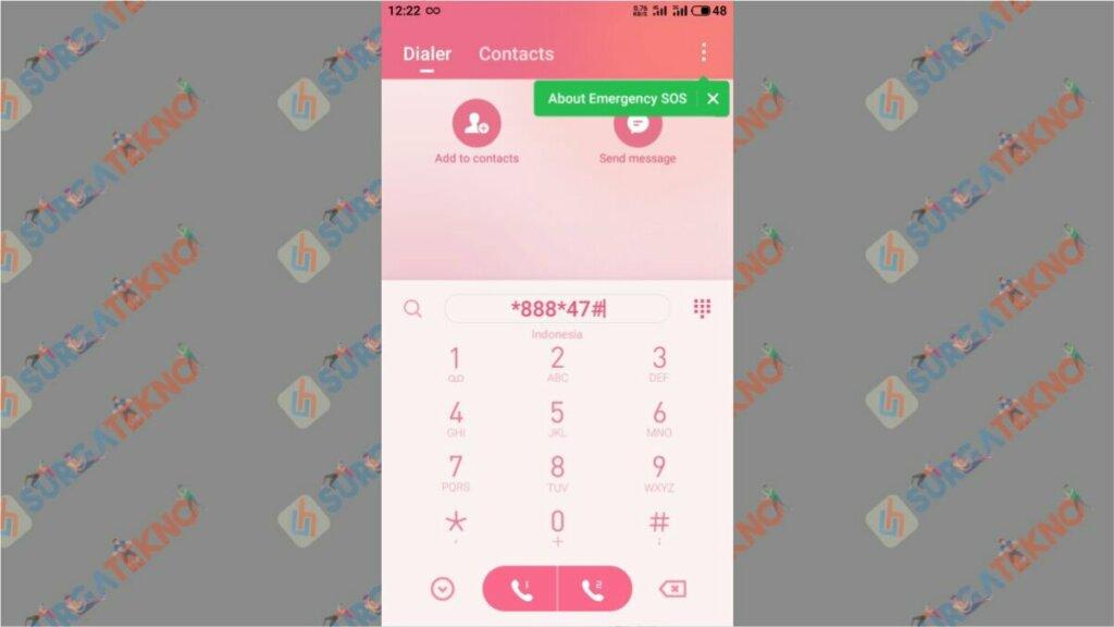 Langkah 1. Cara Cek Nomor Telkomsel Terdaftar M-Banking atau Tidak