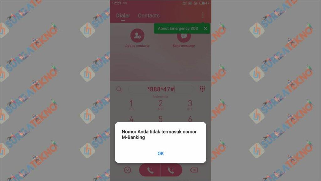 Langkah 3. Cara Cek Nomor Telkomsel Terdaftar M-Banking atau Tidak