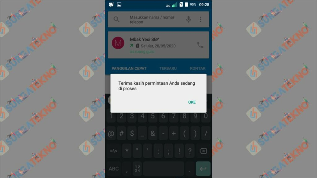 Langkah 3. Cara Upgrade Kartu Telkomsel ke 4G - Nomor Masih 3G