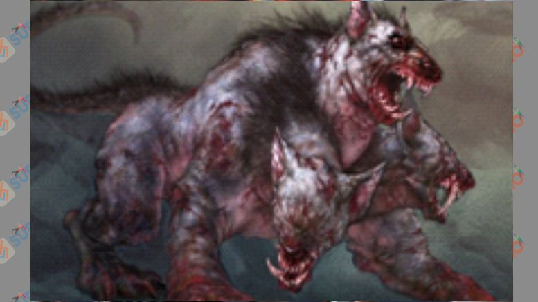 Mole Cerberus - Boss God of War 2