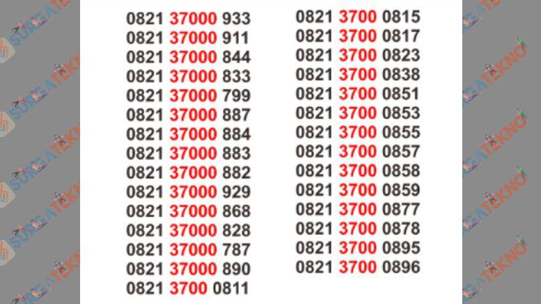 Nomor Cantik 0821 Kartu simPATI