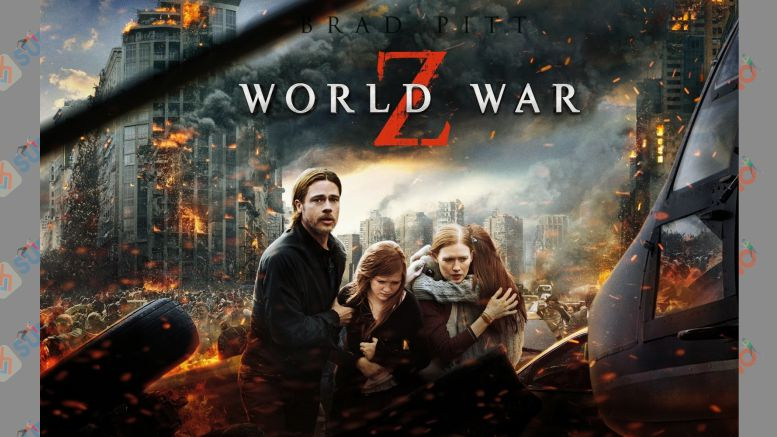 Pamflet Film World War Z (2013)