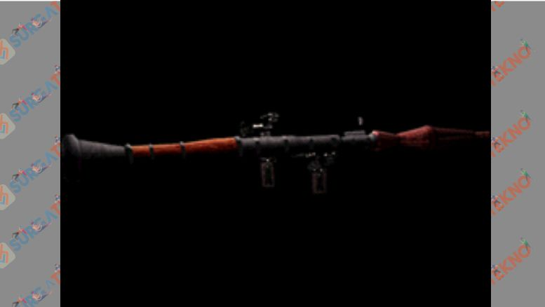 Senjata Rocket Launcher di Resident Evil 4