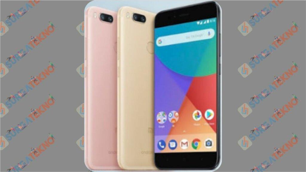Tampilan Xiaomi Mi A1