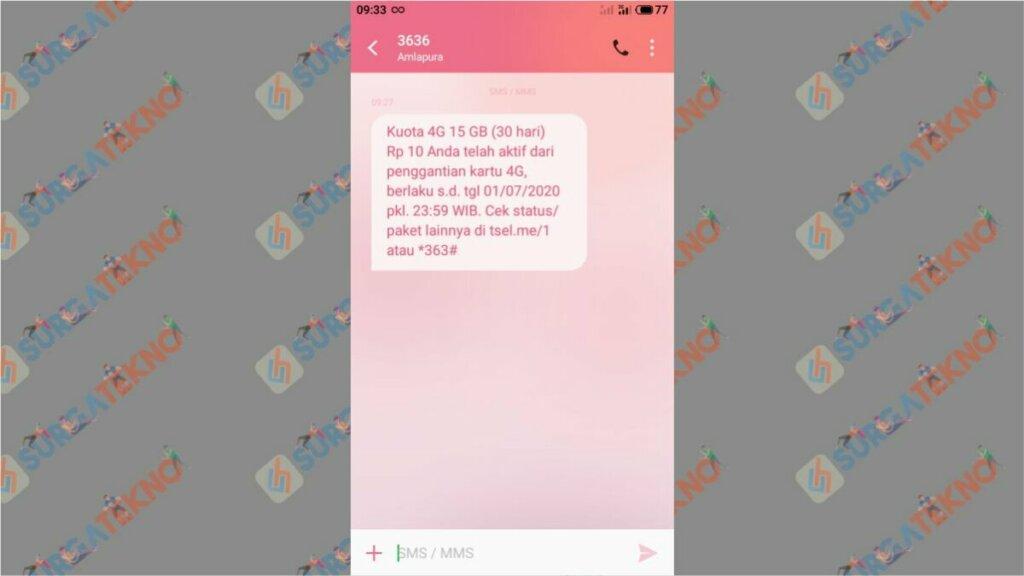 Upradge Telkomsel 3G ke 4G dapat Bonus Kuota 15 GB Cuma Rp 10