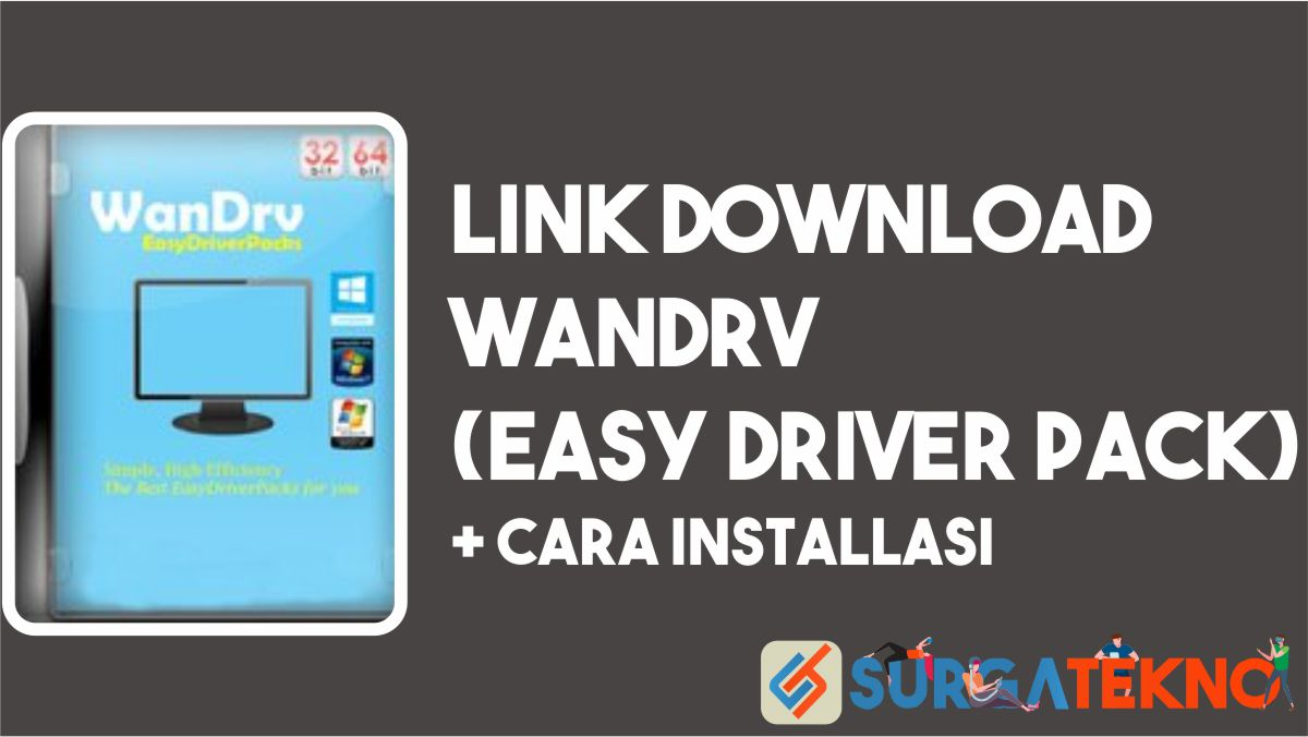 Wandrv (Easy Driver Pack) + Cara Install