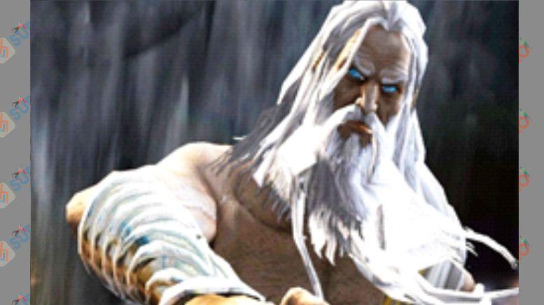 Zeus - Boss God of War 2