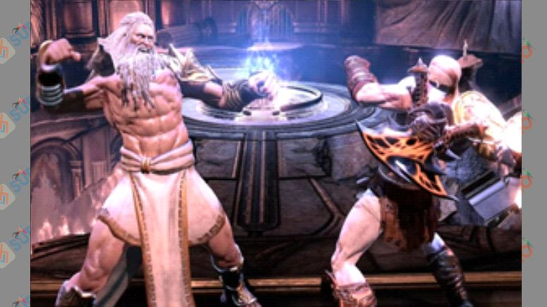 Zeus - Boss God of War 3