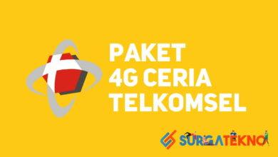 Photo of Cara Daftar Paket 4G Ceria Telkomsel 20 GB