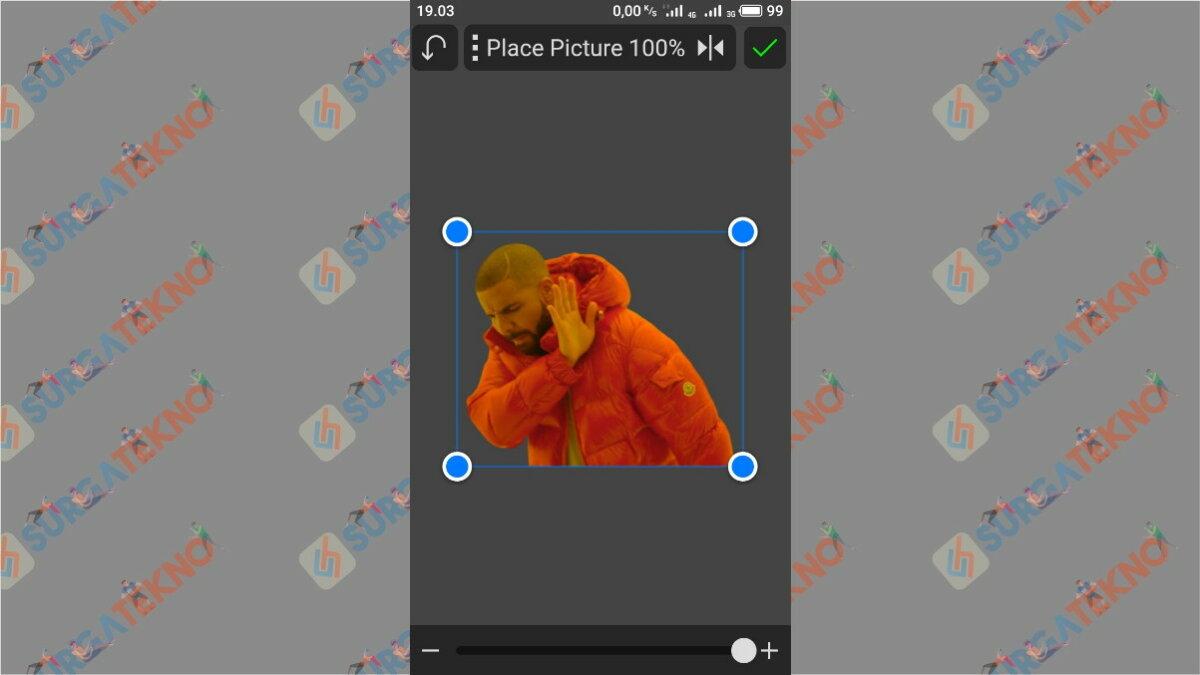 Posisikan Gambar - Surga Tekno