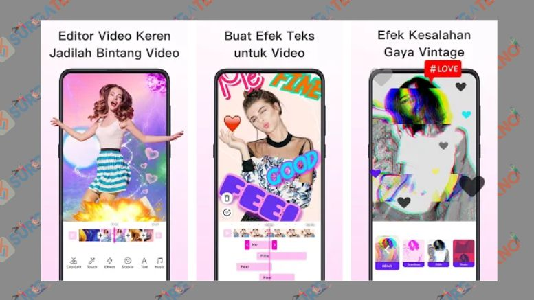 Editor Video, Starmaker, Efek Ajaib- MagoVideo