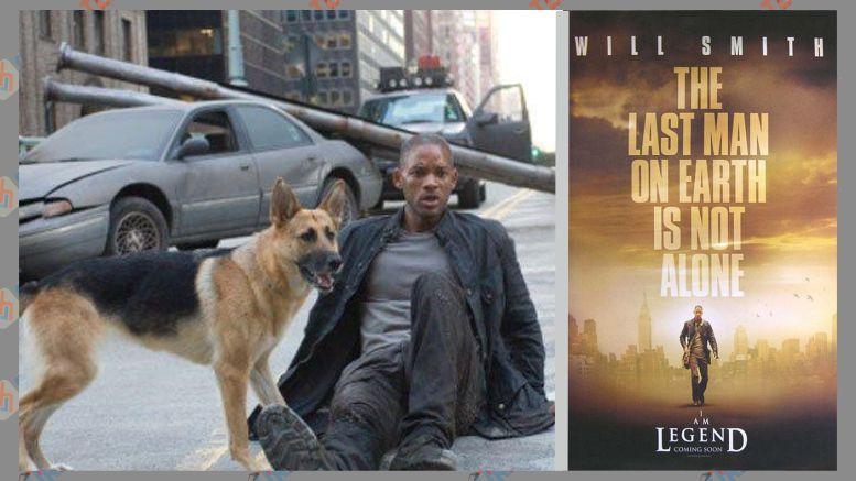 Film Virus yang Menginfeksi Banyak Orang - I Am Legend (2007)