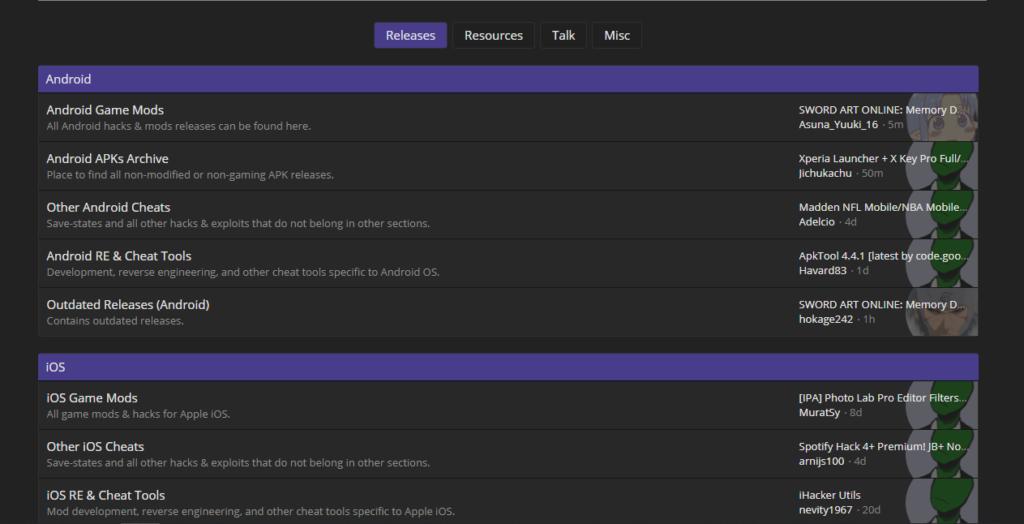 Forum APK MOD boards libre