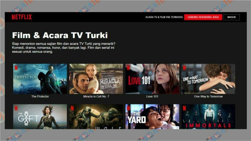 NetFlix Menyediakan Drama Turki