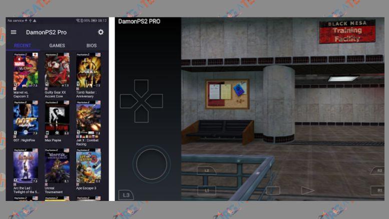 PS2 Emulator - DamonPS2 - PPSSPP PS2 PSP PS2 Emu