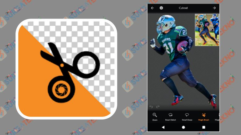 PhotoCut - Background Eraser & CutOut Photo Editor