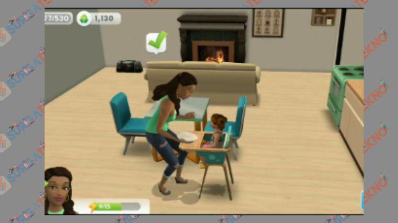 Punya Anak di Game The Sims Mobile