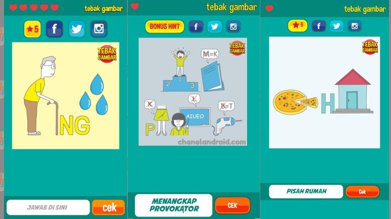 Tebak Gambar - Game Buatan Orang Indonesia