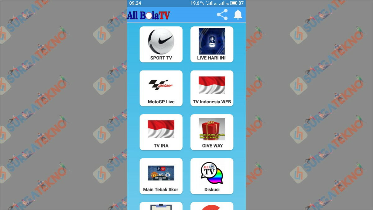 All Football TV - Surga Tekno
