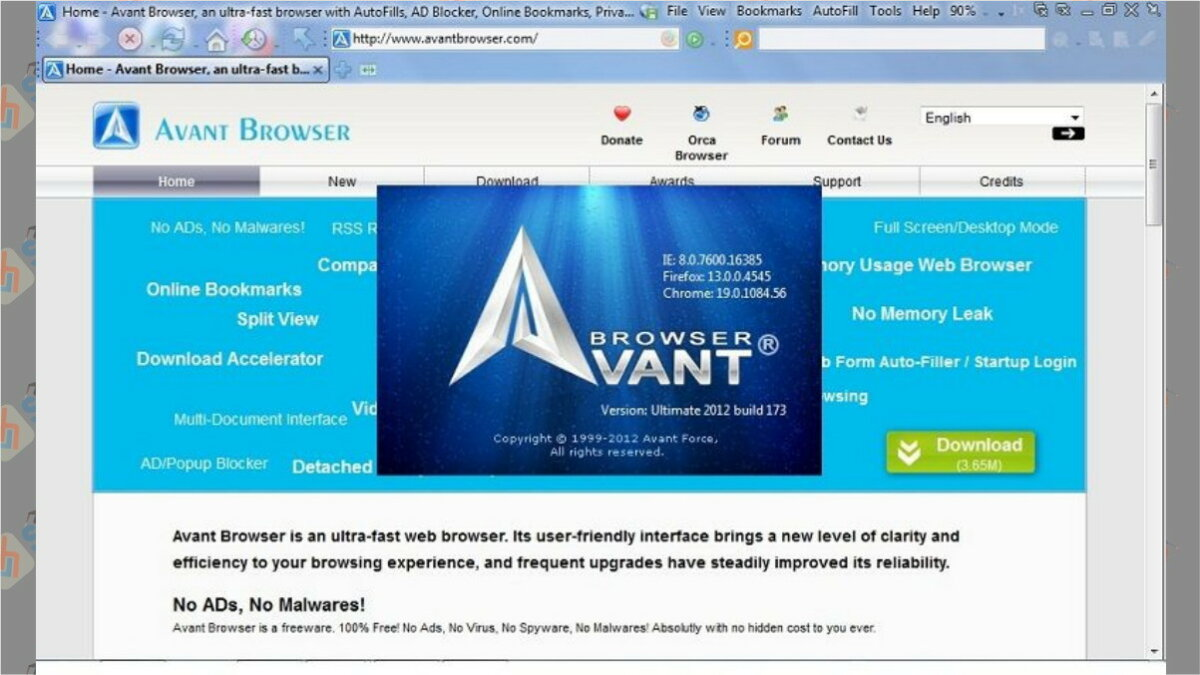 Avant browser - Surga Tekno
