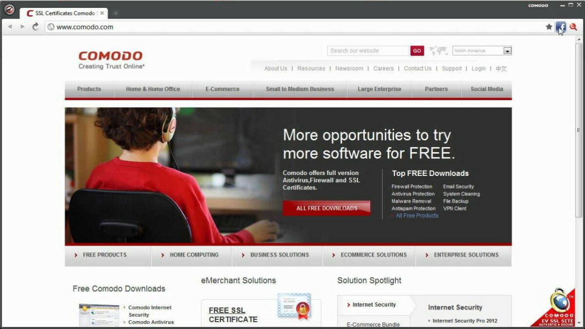 Comodo Dragon Browser - Surga Tekno