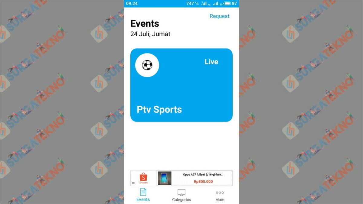 Live Football TV - Surga Tekno