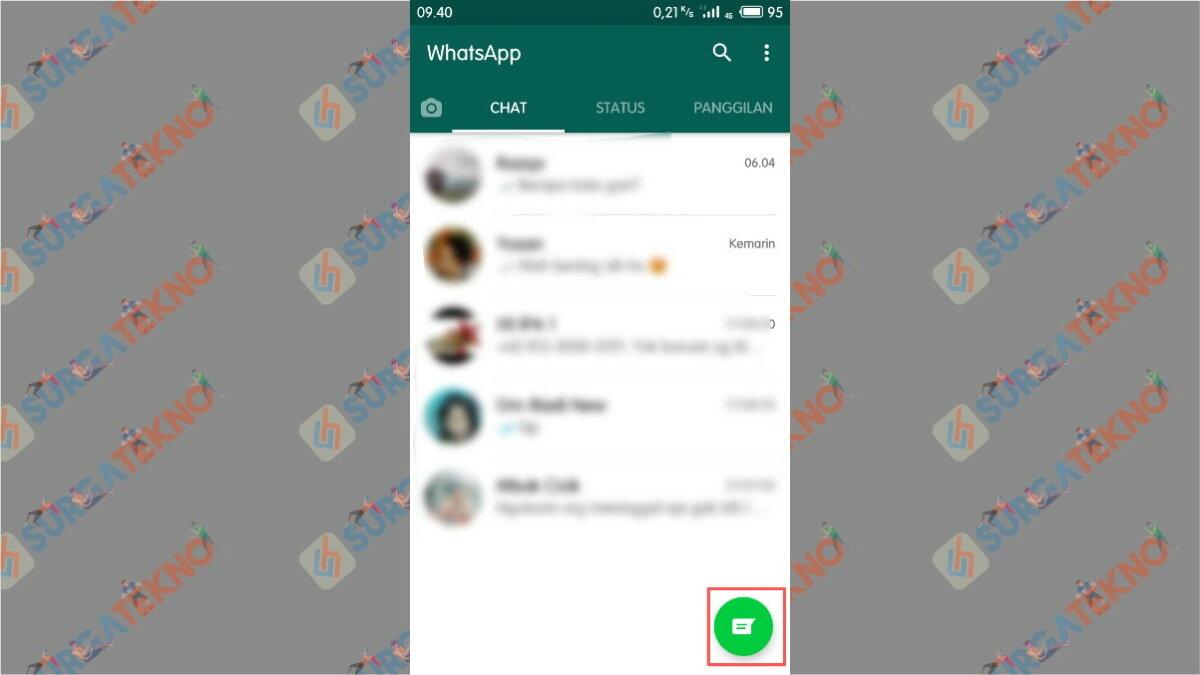 Buka Kontak WhatsApp