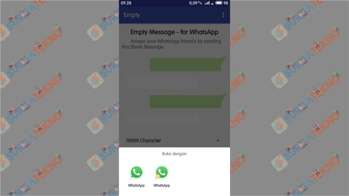 Buka Dengan WhatsApp