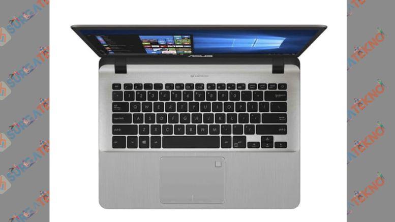 Laptop Asus A407U (2020) sudah dilengkapi dengan Fingerprint