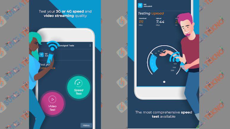 Opensignal - 3G & 4G Signal & WiFi Speed Test
