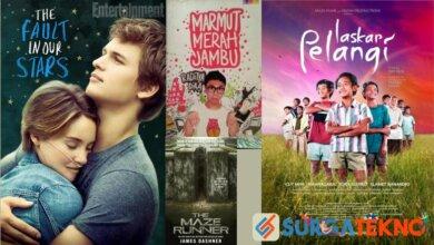 Photo of 8 Rekomendasi Film Yang Diadaptasi dari Novel