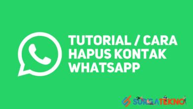 Photo of Cara Hapus Kontak WhatsApp yang Benar