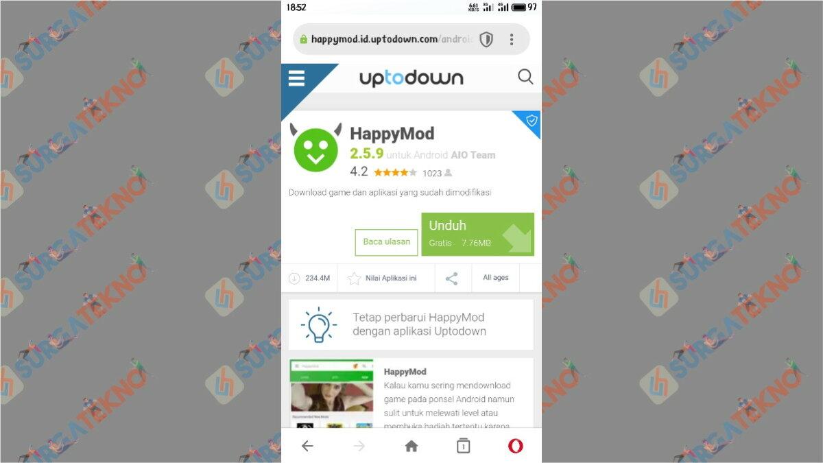 2 Cara Download Aplikasi Happymod