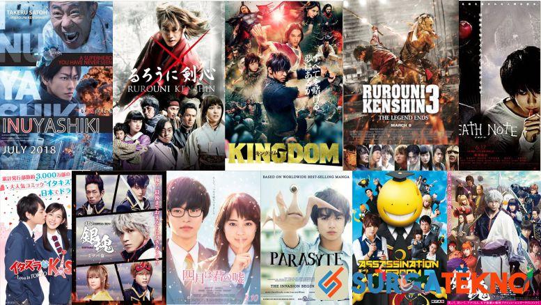 Rekomendasi Film Anime Live Action Terbaik