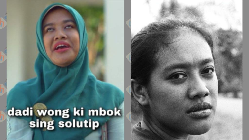 Siti Fauziah Pemeran Bu Tedjo di Film Pendek TILIK