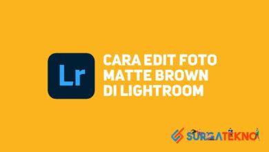 Photo of Cara Edit Foto Matte Brown di Lightroom
