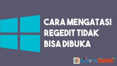 Photo of Cara Mengatasi Regedit (Registry Editor) Tidak Bisa Dibuka