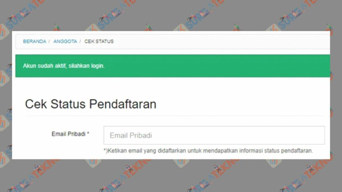 Cek Status Pendaftaran Dapodik