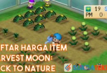 Photo of Harga Item di Harvest Moon: Back to Nature