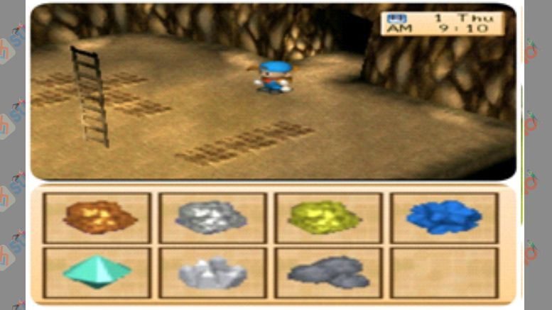 Daftar Harga Item Hasil Tambang - Harvest Moon Back to Nature