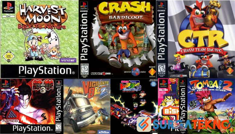 Game PlayStation yang Bikin Nostalgia