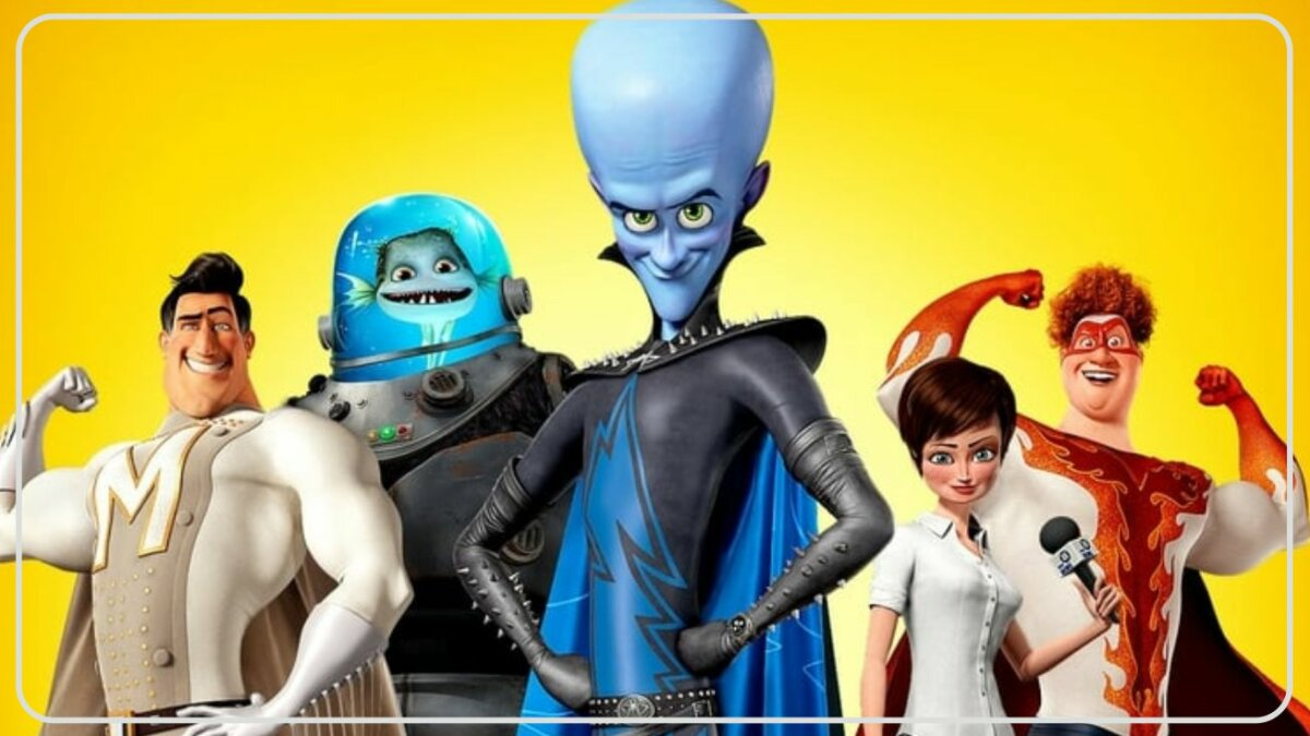 Megamind (2010) - Film Action Comedy Terbaik